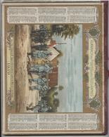 Almanach Des  Postes, 1919, Nord, Croix De Guerre, Officiers, Poilus, Double Carton, 24p  Département Gironde, Bordeaux - Calendriers