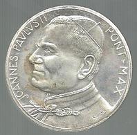 Roma, Città Del Vaticano, La Pietà, Papa Giovanni Paolo II, Mist. Ag. Gr. 17, Cm. 3,5. - Italia