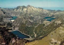 Les Lacs Du Massif De Neouvielle Capdelong Oredon Les Laquets Aubert Aumar 1977  CPM Ou CPSM - Frankreich
