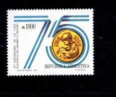 771123455 1990 SCOTT 1678 POSTFRIS  MINT NEVER HINGED EINWANDFREI  (XX) - NATL SAVINGS AND INSURANCE FUND 75TH ANNIV - Argentinien