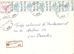 Belgique 1982 - Lettre Recommandée De Sougne-Remouchamps - Province De  Liège - COB 1584/1648 X 3 - Belgium