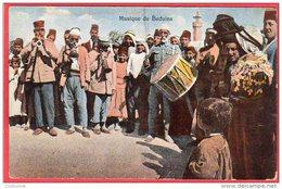 CPA  ALgérie Musique De Béduins ( Tampn Trésor Et Postes 615 - Algeria