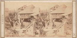 PHOTO STEREO SAVOIE CASCADE DE GRESY - Fotos Estereoscópicas