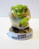 Fève Brillante Et Dorée -  Shrek 2010 - DWA LLC - Personnages