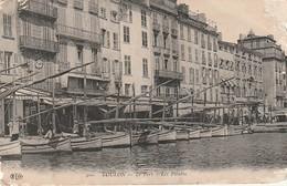 Rare Cpa Toulon Le Port Les Pointus - Toulon