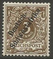 German SW Africa - 1899 Numeral 3pf MNH **  Mi 5a  Sc 7 - Colony: German South West Africa