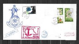 Patrouilleur ALBATROS - Escale à MOMBASA 20/06/86 Sur Timbres Du KENYA - Postmark Collection (Covers)