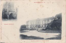 SAINT-BRIEUC - Chapelle St-Brune - Palais De Justice Et Jardin Public - Saint-Brieuc