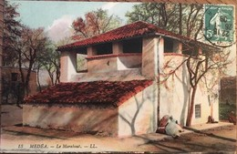 Cpa, Medéa, Le Marabout, Algérie,éditions LL,écrite En 1908 - Medea