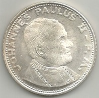 Vaticano Papa Giovanni Paolo II, Mist. Ag. Gr. 16, Cm. 3,5. - Gettoni E Medaglie