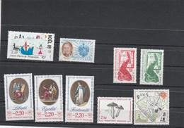 Saint Pierre Et Miquelon 1989 Yvert  N°  497 à 503 + 509A + 510 à 512 ** - St.Pierre & Miquelon
