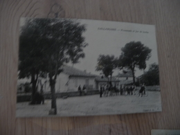 CPA 30 Gard Gallargues Promenade Et Jeux De Boules     BE - Gallargues-le-Montueux