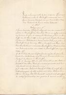Voogdij Rekening  Tussen Mulder Verhavert & Maria Moortgat & Dochters - Steenhuffel 1877 - Vieux Papiers