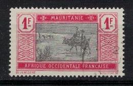 MAURITANIE       N° YVERT  :    31   OBLITERE       (  O B 3/56 ) - Oblitérés