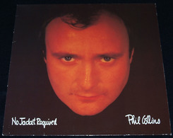 """PHIL COLLINS – """"No Jacket Required"""" – LP – 1985 – 251699-1 – A Warner Communications Company – Made In Germany - Rock"""
