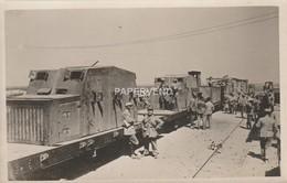 Syria  Armoured Train Druze Rebellion 1925  RP  Sy28 - Syria