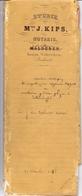 Akte - Verkoping Goederen Erfgenamen Moortgat - Verhavert - Steenhuffel - Notaris Kips Wovertem 1858 - Vieux Papiers