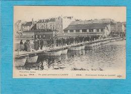 Lagny. - Un Pont Provisoire à Lagny. - Lagny Sur Marne