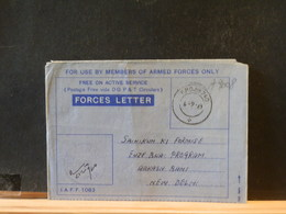 A9008   FORCES   LETTER   1967 - Lettres & Documents