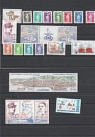 Saint Pierre Et Miquelon 1990 Yvert  N°  513 à 521 + 522A  + 523 à 528 + 530A + 532A + 533  ** - St.Pierre & Miquelon
