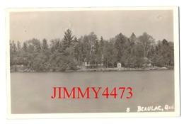 POST CARD Datée De 1945 - BEAULAC ( Garthby ) Québec Canada - Quebec