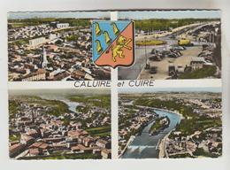 CPSM CALUIRE ET CUIRE (Rhone) - 4 Vues - Caluire Et Cuire