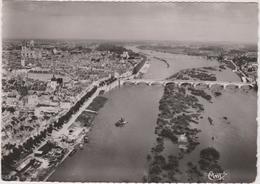 45 Orleans  Vue Aerienne  Sur La Loire, Le Pont Georges 5  Et Le Pont De Vierzon - Orleans