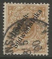 German SW Africa - 1898 Numeral 3pf Fine Used  Mi 5b  Sc 7b - Colony: German South West Africa