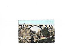 Carte Postale Ancienne Constantine  (Algérie)  Le Pont Sidi-Rached Et Le Pont Du Diable - Constantine