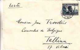 Lituanie - Lettre De 1940  ? - Oblit Kaunas - Exp Vers Tallinn - Président - - Lituanie