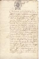 Akte - Verkoping Partije Land Steenhuffel - Notaris Adriaenssens 1782 - Vieux Papiers