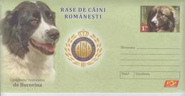 ROMANIA 2019:ROMANIAN SHEPHERD DOG 2 Unused Postal Stationery Covers - Registered Shipping! Envoi Enregistre! - Cani