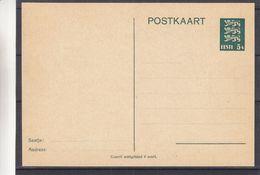 Estonie - Carte Postale De 1935 - Entiers Postaux - Valeur 20 € En ....2005 - Estonie
