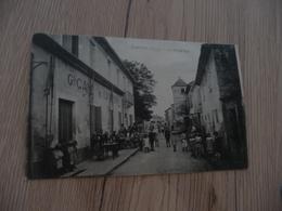 CPA 30 Gard Garons La Grande Rue Animée Grand Café De L'Univers  BE - France