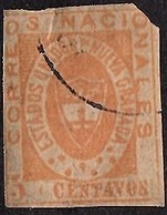 1861 Estados Unidos De Nueva Granada 5 Centimos Michel #10 (faults) CV € 220 (570) - Colombia