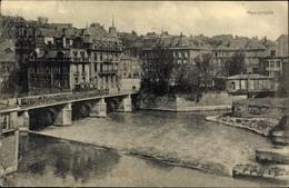 Cp Sedan Ardennes, Maasbrücke, Teilansicht Vom Ort - Francia