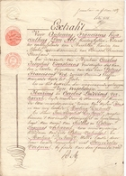 Akte - Beeindigen Gemeenzaamheid Kinderen Mulder Verhavert Steenhuffel -  Notaris Den Abt Merchten 1839 - Vieux Papiers