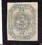 1859 20 Cts (mint, No Gum, VERY Fine) Michel # 4  CV € 140,00 (571) - Kolumbien