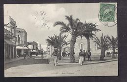 CPA TUNISIE - BIZERTE - Rue D'Espagne - TB PLAN ANIMATION MAGASINS Centre Ville - Tunisia