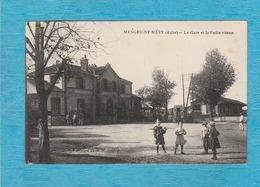 Mesgrigny-Méry. - La Gare Et La Petite Vitesse. - Francia