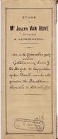 Akte - Geldlening De Keyser Kapelle Op Den Bos - Buelens - Dierickx Steenhuffel -  Notaris Van Hove Londerzeel 1907 - Vieux Papiers