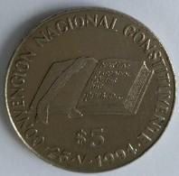 ARGENTINE - 5 PESOS 1994 - CONSTITUCION NACIONAL - PANAMA - SANTAFE - Superbe - - Argentina