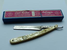 RASOIR COUPE CHOU CARL RADER SOLINGEN - Knives/Swords