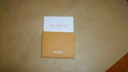 Carte Parfumée Hermès Jour D'Hermès - Modernes (à Partir De 1961)