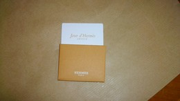 Carte Parfumée Hermès Jour D'Hermès - Cartes Parfumées