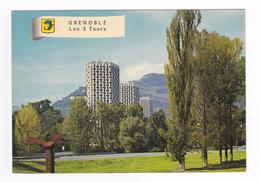 38 Grenoble N°174 Les 3 Tours De L'Ile Verte Anger Pivot Junillon Architectes - Grenoble