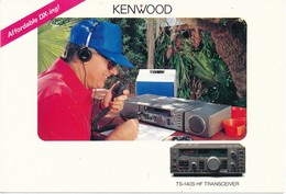 Carte Radio QSL Kenwood - Radio
