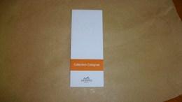 Carte Parfumée Hermès Collection Cologne - Cartes Parfumées