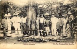 Congo - Boma - La Chasse Au Crocodile - Congo Belge - Autres