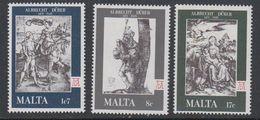 Malta 1978 Albrecht Durer 3v ** Mnh (42804) - Malta